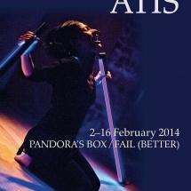 ATIS February 2014, graphic design Ala Merha, photo Maciej Zakrzewski