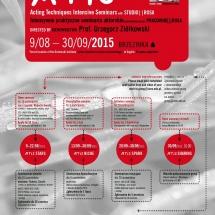 ATIS 2015, graphic design Barbara Bergner Kaczmarek