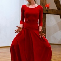 Agnieszka Pietkiewicz in Leaden Ball, Brzezinka, 2008, photo Maciej Zakrzewski