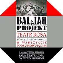BAL LAB, 2011, graphic design Agnieszka Pietkiewicz