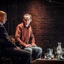 Paul Allain and Grzegorz Ziółkowski during the meeting Actor: artisan – artist, Wrocław, 2016, photo Maciej Zakrzewski