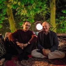 Grzegorz Ziółkowski and Paul Allain, photo Maciej Zakrzewski