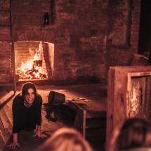 Lusine Khachatryan in her etude The Power of..., directed by Grzegorz Ziółkowski, ATIS 2015 STARS, photo Maciej Zakrzewski