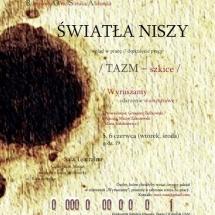Światła niszy || The Lights from the Niche, June 2012, graphic design Grzegorz Ziółkowski