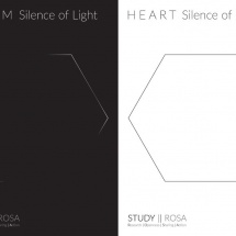 Duet ON SILENCE (TAZM and HEART), graphic design Maciej Pachowicz