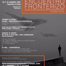 Frontier Encounter 2 in Teatro Ictus, Santiago, Chile